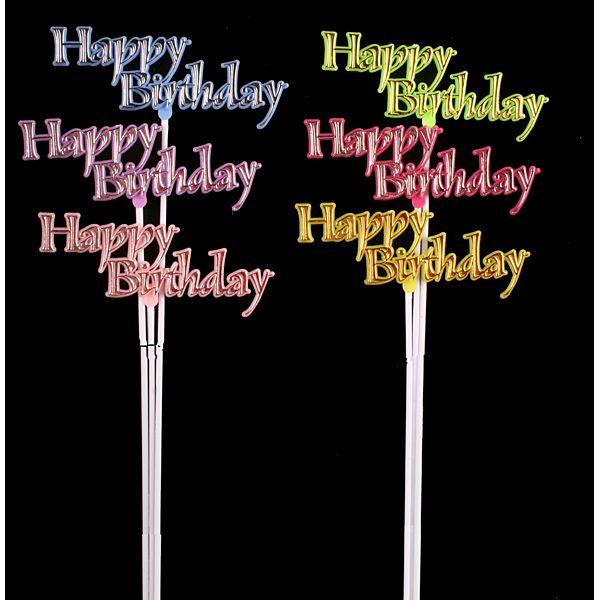 Online Job Search >> Happy Birthday Pick 6 - Arrangement Floral Picks