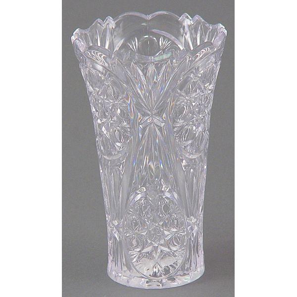 2401 Clear Mini Rose Plastic Vase Plastic Flower Vases