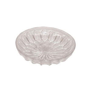 1.75 in. H. x 7 in. Op., Round Clear Low Dish