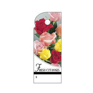 Fresh Cut Roses Trim Tag