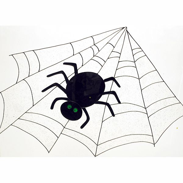 31 in. Display Spider Web Self-Adhesive, Reusable