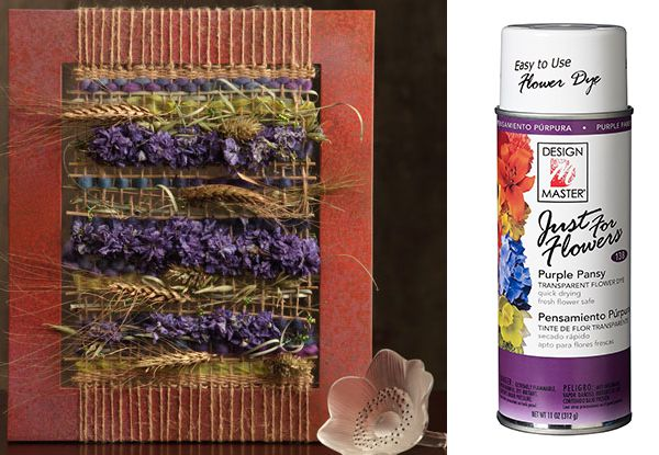 Just For Flowers Purple Pansy Floral Paints