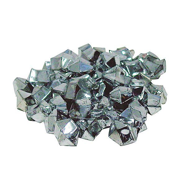 Metallic Silver Diamond Ice Marbles And Vase Filler