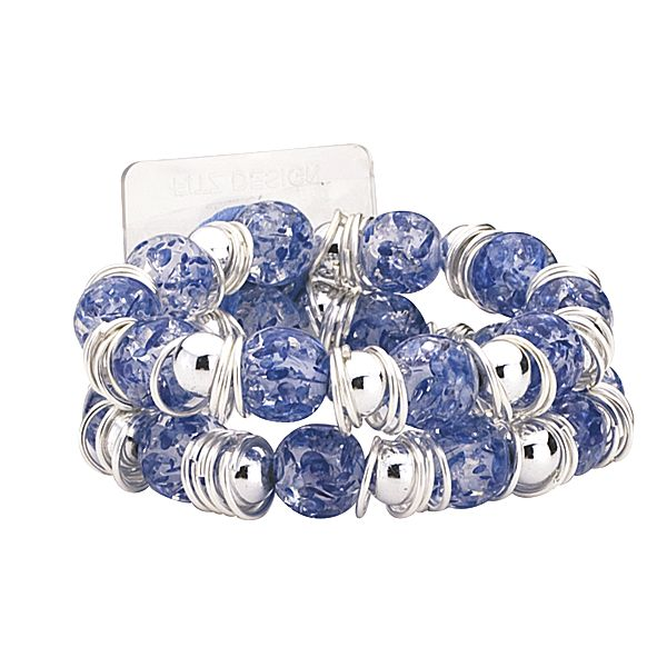 Raz-Ma-Tazz Blueberry Flower Bracelet  - SAVE - 50% Off...while supplies last!