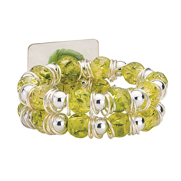 Raz-Ma-Tazz Green Apple Flower Bracelet  - SAVE - 50% Off...while supplies last!