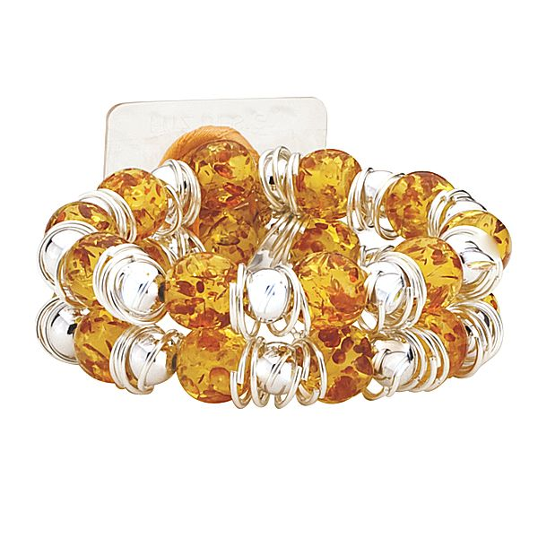 Raz-Ma-Tazz Orange Tangerine Flower Bracelet  - SAVE - 50% Off...while supplies last!
