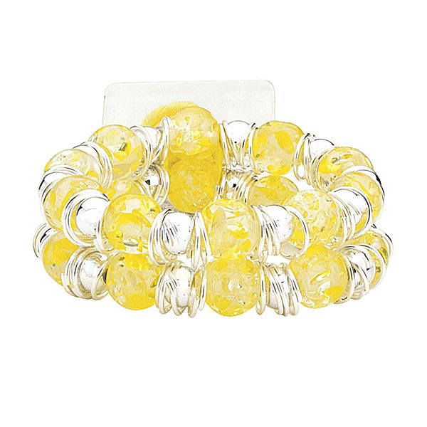 Raz-Ma-Tazz Yellow Lemon Flower Bracelet  - SAVE - 50% Off...while supplies last!