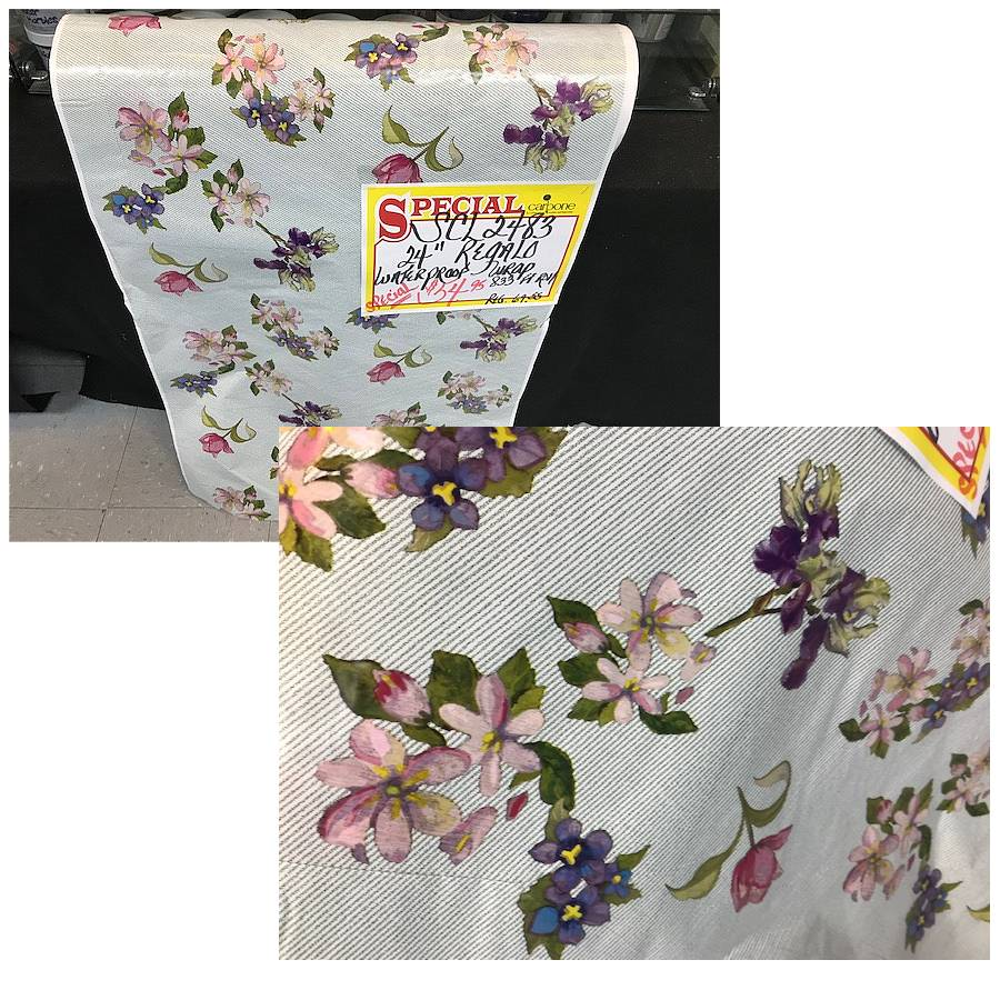 24 in. x 833 ft. Regalo Water Proof Flower/Gift Wrap (Reg. $69.55)