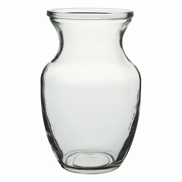 8 In Everyday Classic Clear Vase Garden Flower Vases