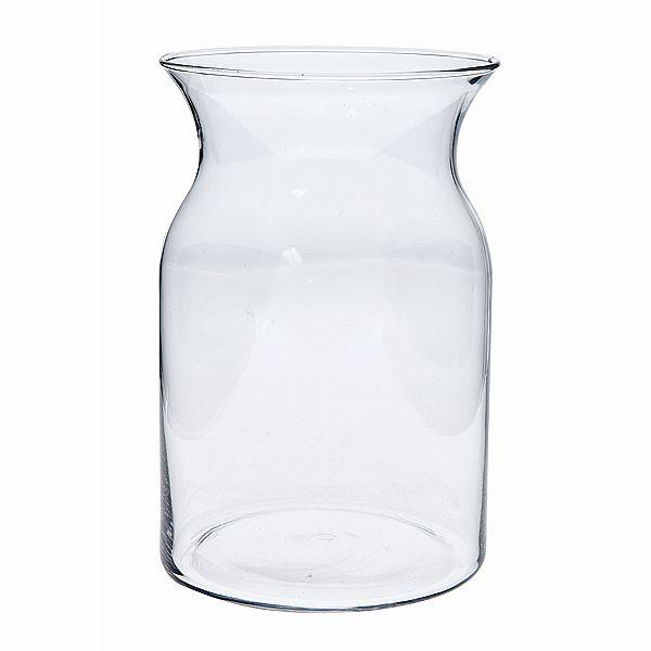 5 In Dia X 8 In H Milk Jug Vase Vintage Glass Vases