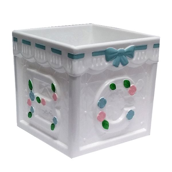 4 in. Baby Block Plastic Containers Assortment