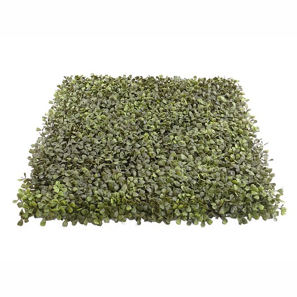 20 in. x 20 in. Square Poly Boxwood Mat