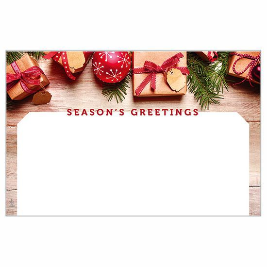 Season's Greetings Homespun Holiday