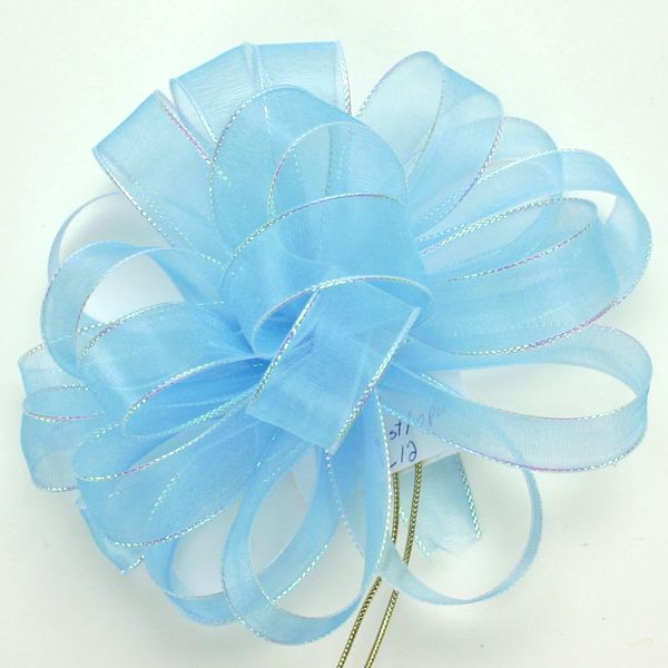 #3 Chic Blue Mist Opal Ribbon