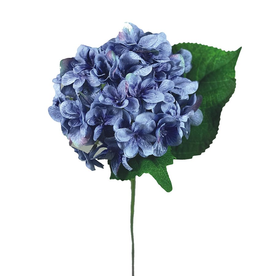 12 in. Hydrangea Pick Blue
