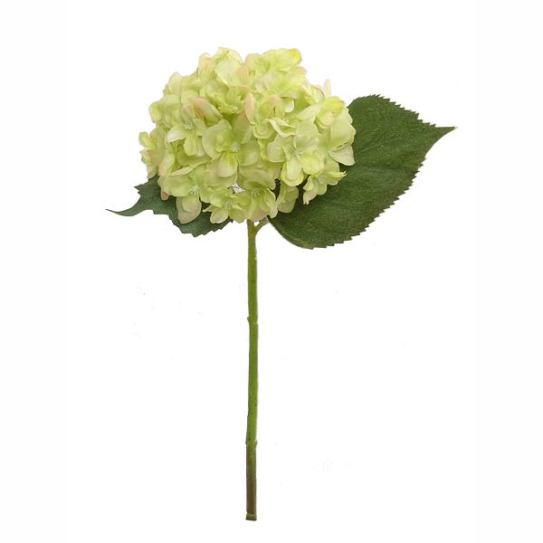 12 in. Green Hydrangea Pick