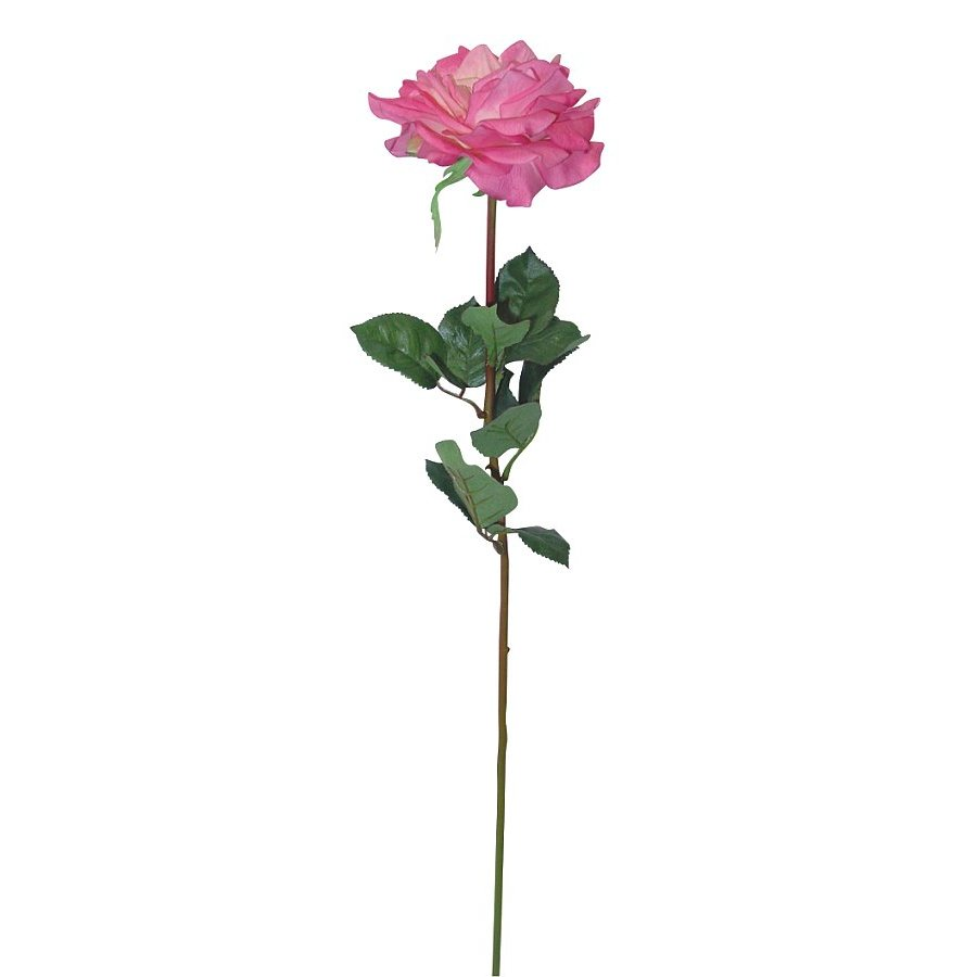 26 in. Large Open Garden Rose Pink