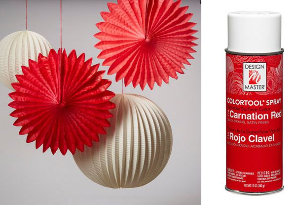 #716 Carnation Red Spray Paint