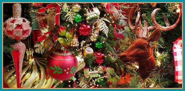 Christmas Floral Decorations 1