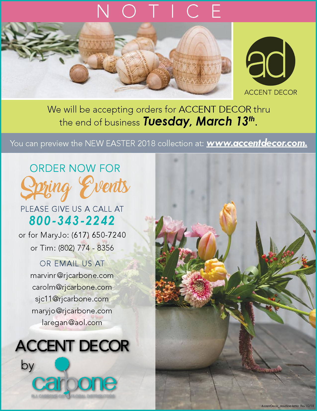 Accent Decor By RJ Carbone