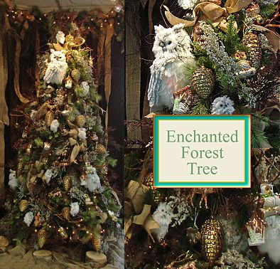 enchanted forest christmas decorations