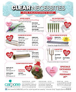 Valentine's Day Floral Supplies & Decorations